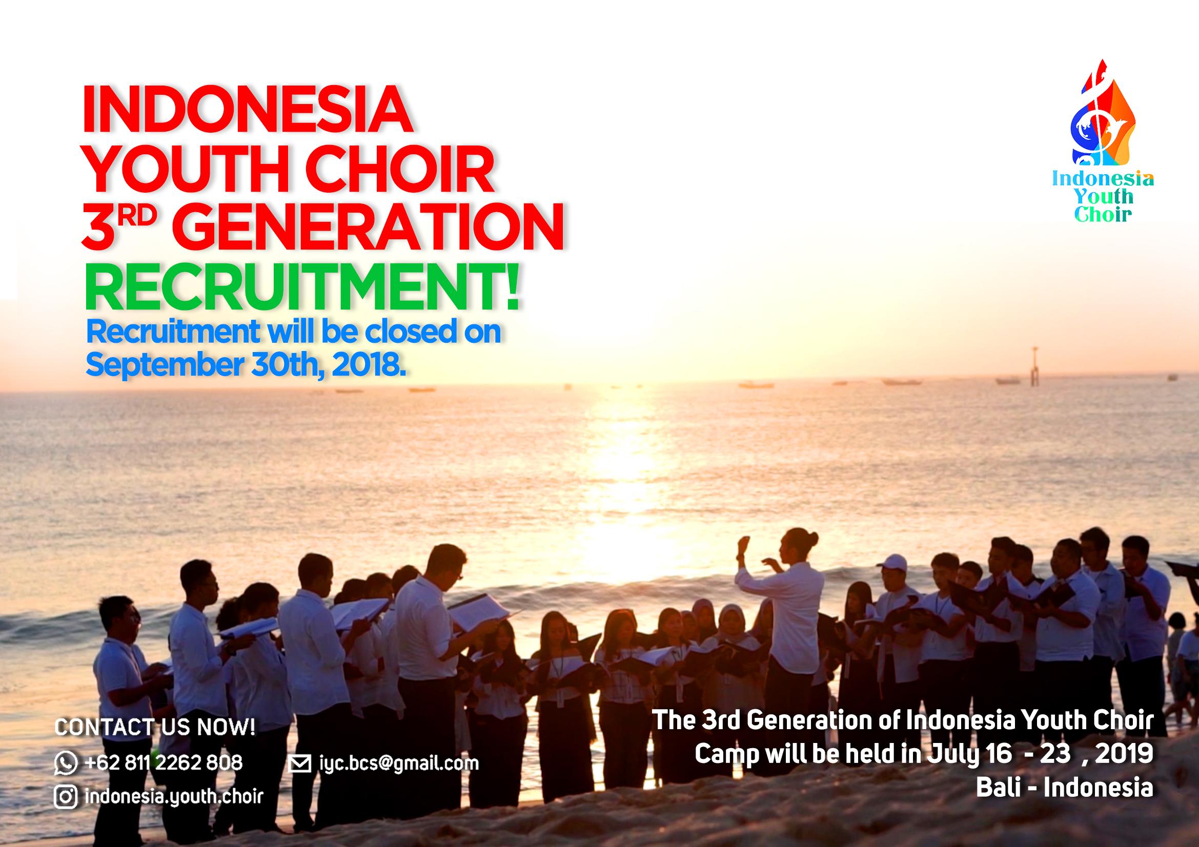 Bandung Choral Society   Landing Page